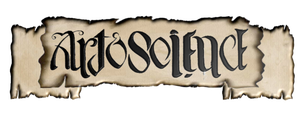 art and science - philosophy ambigram banner by Abstract-scientist
