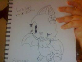 HANDRAW: amour the swoobat by saltycuccumbers