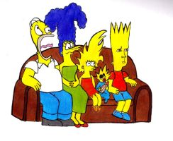 simpsons by hollyeustace