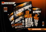 Flyer City Never Sleeps Konnekt by AndyDreamm