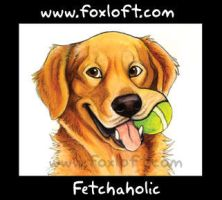 Fetchaholic by Foxfeather248