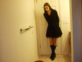 Black Trench Jacket 2 by Renstock