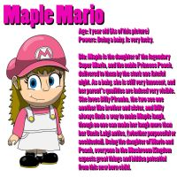 BrawlFan1's Character Bios: Maple Mario by w00twithBrawl