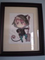 Prussia Cross Stitch by ChandrakantaAvani