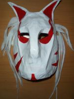 Kitsune Mask by BlACKPAST