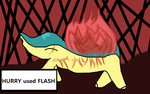HURRY used FLASH by Tibby-san