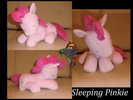 Sleeping Pinkie Pie by Caleighs-World