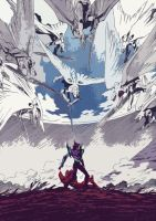 Evangelion Stage 85 Pag. 17 by franVrg