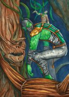 I am Reptile by Grace-Zed