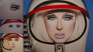 Christina Aguilera WIP Series by PriscillaW