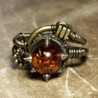 Steampunk Relic Ring by CatherinetteRings