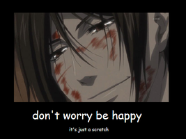 Don't worry be happy by nibbl3y