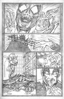 HAUNT VS. page 6 pencils by ejimenez