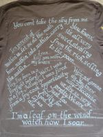 Firefly T-Shirt, Back by Shadowfax999