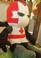Red Knight - Castle Crashers Plush by Sparkle-And-Sunshine