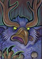 warcraft moonkin portrait by missmonster