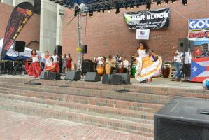 Puerto Rican/Latin Festival, Dancing To Bongos 6 by Miss-Tbones