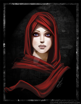 Red Scarf by celyne