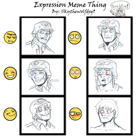 Expressions Meme by supaluilu