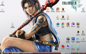 Final Fantasy XIII: Fang Desktop by suicidebyinsecticide