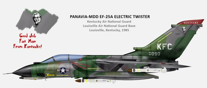 USAF PANAVIA-MDD EF-25A Electric Twister by db120