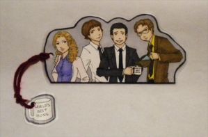 the office bookmark by KateSkirmish