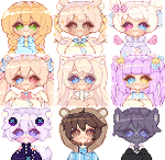 Icon batch by CHARIKO