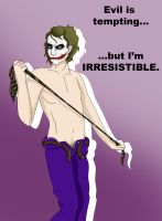 TDK ::Joker Pin-Up:: by skybluespirit
