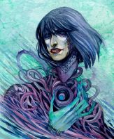 Chaotic soul by XViolacea