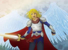 Archangel Michael by the-winter-girl