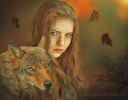 Red Haired by annewipf
