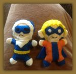 Pocket Rogues - Captain Cold and Trickster by furrychaos