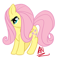 MLP: Fluttershy by x6tr2ni