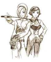 Ash and Eli: Friend or Foe? by bluekensou