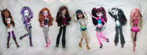 All The Rftg Dolls-uncolored by KPenDragon
