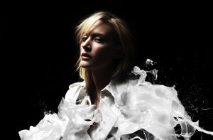 White paint splash by double-graphic
