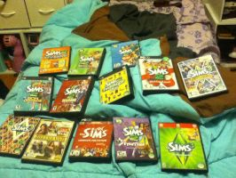My Sims Collection and More! by RecklessWizard231
