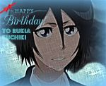 Happy Birthday to Rukia Kuchiki!! by AnimeAkatsukiCat