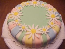 Daisies in Fondant by panuru