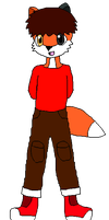 Anikaria Guest Character: Maxy the Fox by Wolf-Prince-Leon