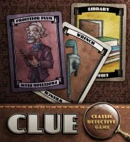 Clue: Prof. Plum, Wrench, Library by IngvardtheTerrible