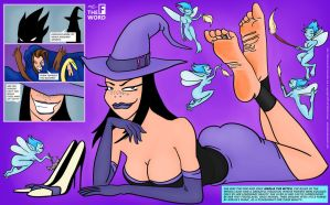 The F Word - Issue #2 - pt 6 - The Ticklish Witch by Whor4cle