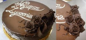chocolate roses by wigur