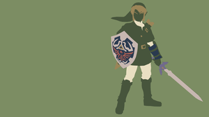 Link Minimalist Wallpaper_2 by saphiropaco
