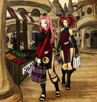 NG: Cousins Shopping Day by ToshieChan