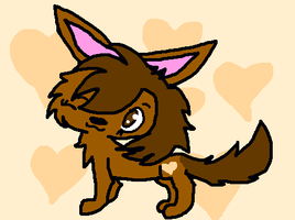 Chocolate The Wolf by DalmationCat