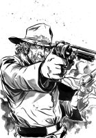 Jonah Hex by MarcLaming