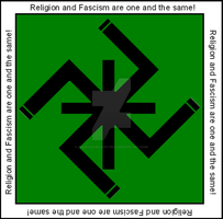 Crucifiedswastika by dead-anarchist-phil