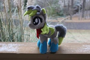 Slatestone OC Plushie Commission by Emberfall0507