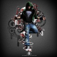 Breakdance photomanipulation by VS-Design